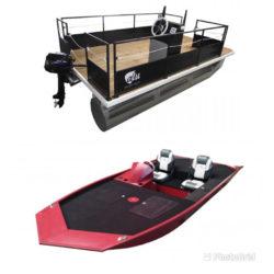 Bateau de pêche, Bass Boat, Bateau Ponton