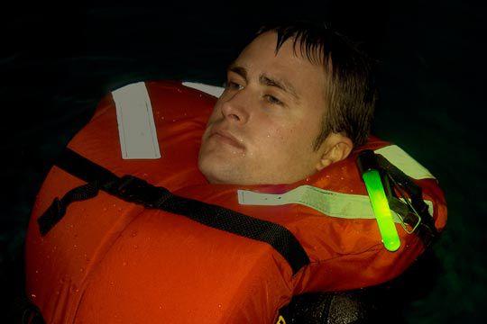 Gilet de sauvetage spécial navigation nocturne